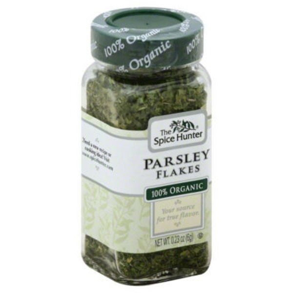 The Spice Hunter Organic Parsley Flakes