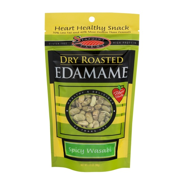 Seapoint Farms Dry Roasted Spicy Wasabi Edamame