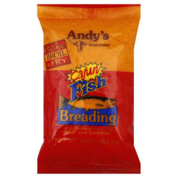 Andy's Seasoning Fish Breading Cajun