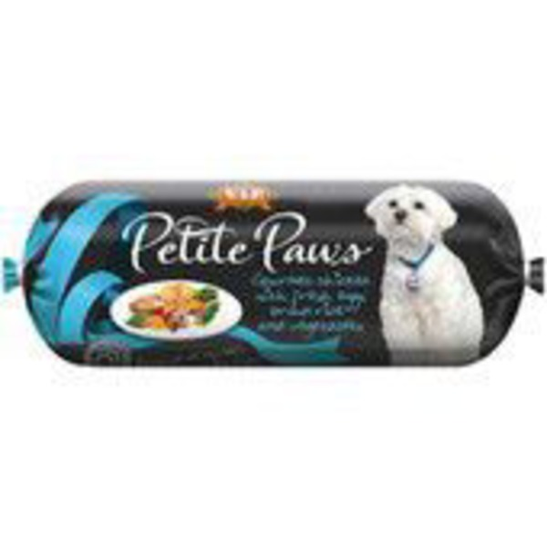Petite Paws Gourmet Chicken Egg Brown Rice And Vegetables
