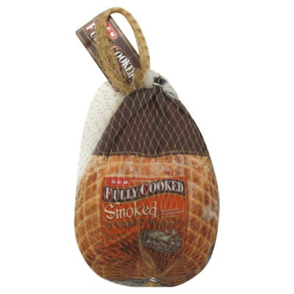 H-E-B Fully Cooked Smoked Turkey Breast