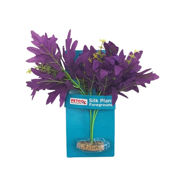 Petco Purple Bunch Silk Aquarium Plant