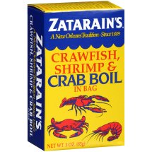 Zatarain's Crawfish, Shrimp & Crab Boil in a Bag, 3 oz