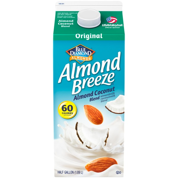 Almond Breeze Almond Coconut Almondmilk Non Dairy Milk Alternative