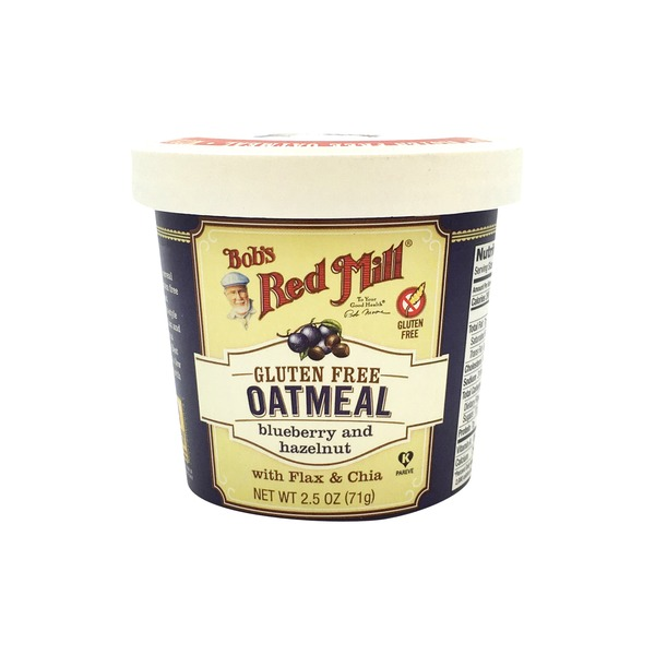 Bob's Red Mill Oatmeal Blueberry & Hazelnut Cup