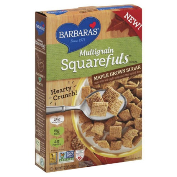 Multigrain Maple Brown Sugar Squarefuls Cereal