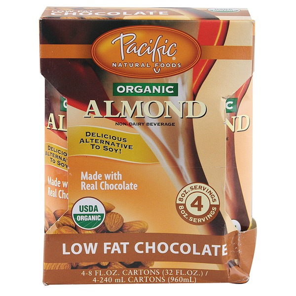 Pacific Natural Organic Chocolate Almond Beverage