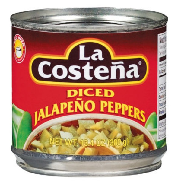 La Costeña Diced Jalapeno Peppers