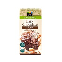 365 Organic Dark Chocolate Bar with Almonds