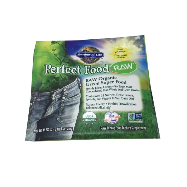 Garden of Life Perfect Food Raw Organic Green Superfood Packet