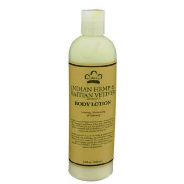 Nubian Heritage Indian Hemp & Haitian Vetiver with Neem Oil Body Lotion