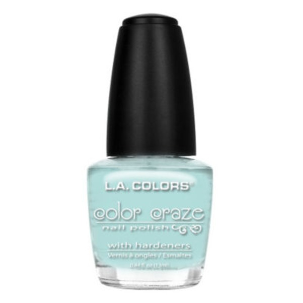 L.A. Colors Craze Nail Polish, Beach