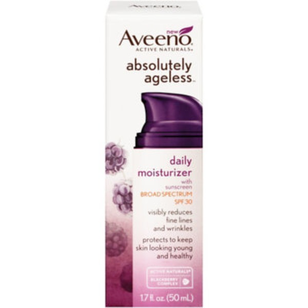 Aveeno® Absolutely Ageless™ with Sunscreen SPF 30 Daily Moisturizer