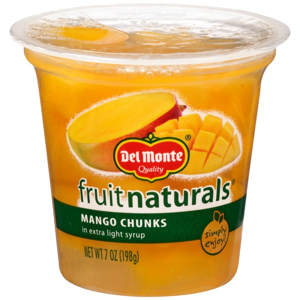 Fruit Naturals in Extra Light Syrup Mango Chunks