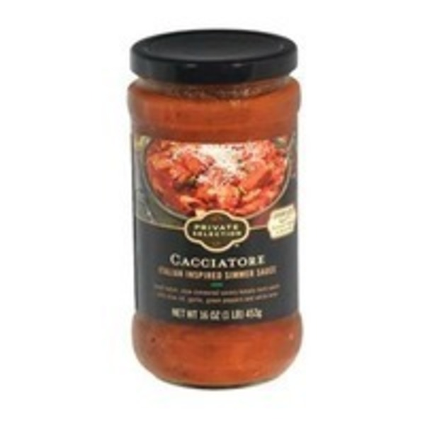 Kroger Private Selection Italian Inspired Cacciatore Simmer Sauce