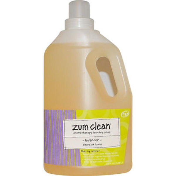 Zum Clean Lavender Aromatherapy Laundry Soap
