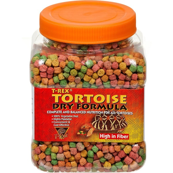 T-Rex Tortoise Dry Formula Complete & Balanced Nutrition for All Tortoises
