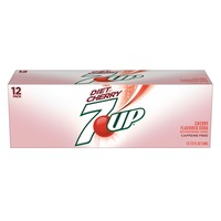 7 Up Diet Cherry Diet CSD