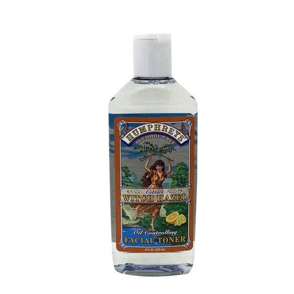 Humphreys Citrus Witch Hazel Oil Controlling Facial Toner