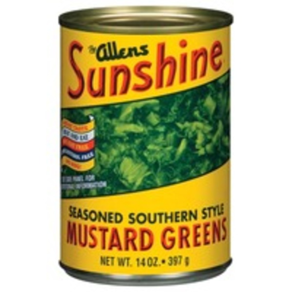 The Allens Sunshine Seasoned Southern Style Mustard Greens