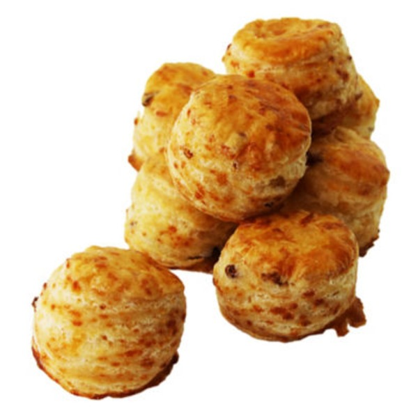 Central Market Mini Bacon Cheddar Scones