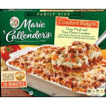 Marie Callender's Three Meat and Four Cheese Lasagna, 31 Ounce