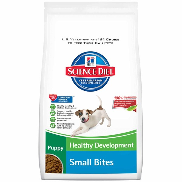 Hill's Science Diet Dog Food, Dry, Puppy (Up To 1 Year), Small Bites