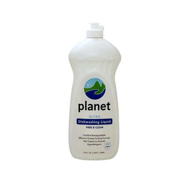 Planet Ultra Free & Clear Dishwashing Liquid