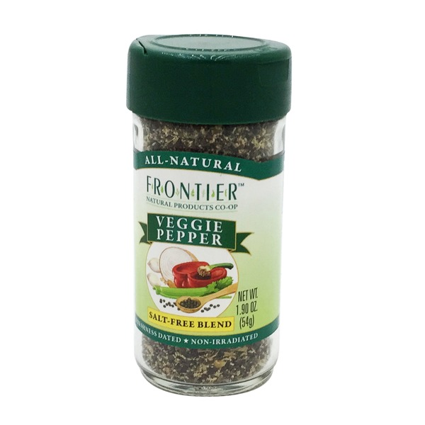 Frontier Natural Products Co-op Frontier Veggie Pepper Seasoning Blend