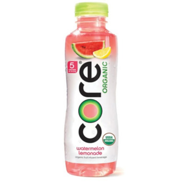 Core Organic Watermelon Lemonade Organic Fruit Infused Beverage