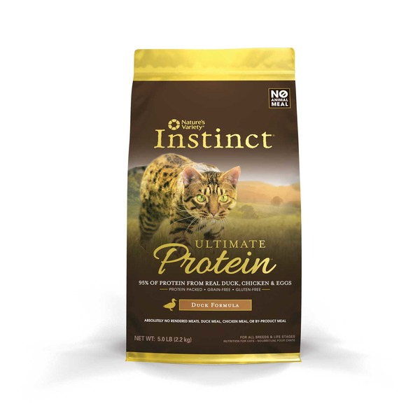 Nature's Variety Instinct Ultimate Protein Duck Cat Food 5 Lbs.