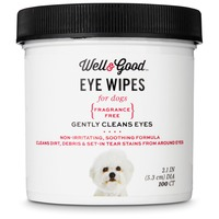 Well & Good Eye Wipes for Dogs