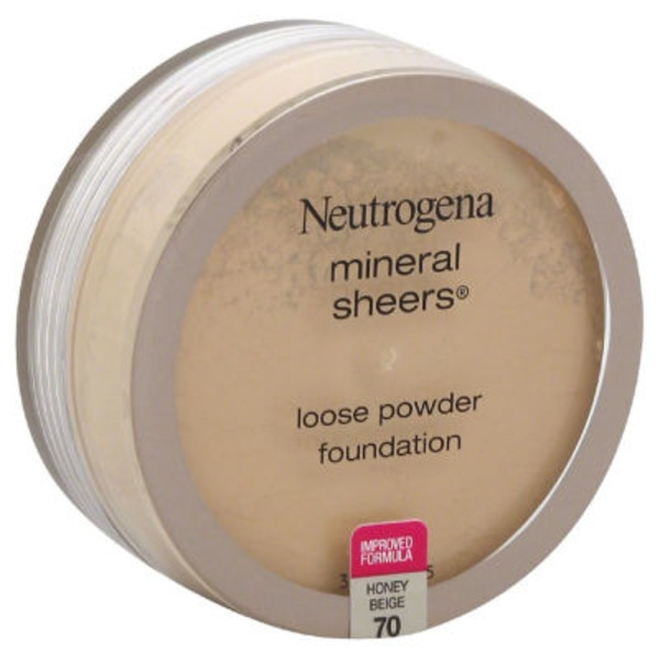 Neutrogena® Mineral Sheers Loose Powder Honey Beige Moisture Smooth