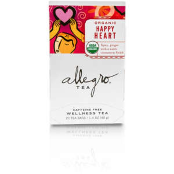 Allegro Tea Wellness Tea Organic Happy Heart Tea