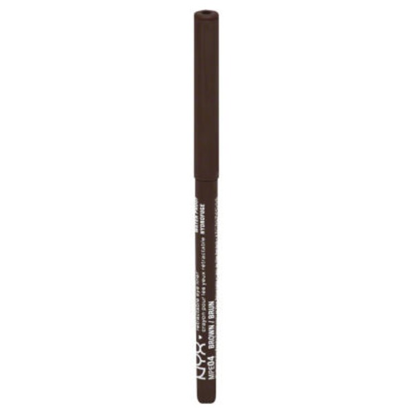 NYX Retractable Waterproof Eye Liner - Brown MPE04