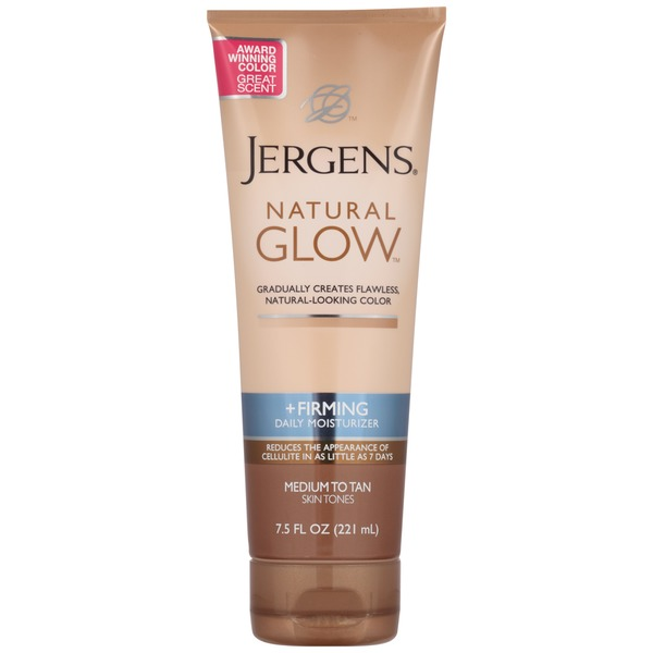 Jergens Natural Glow Natural Glow + Firming Medium to Tan Skin Tones Daily Moisturizer