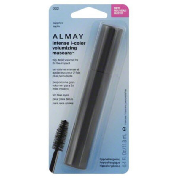 Almay Mascara, Volumizing, for Blue Eyes, Sapphire 032