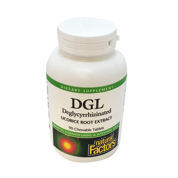 Natural Factors DGL Licorice Root Extract