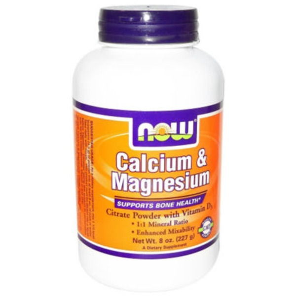 Now Calcium and Magneisum Citrate Powder