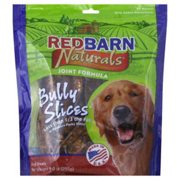 RedBarn Naturals Premium Dog Chews Bully Slices