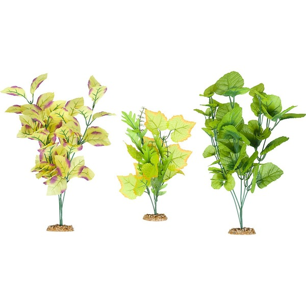 Petco Background Plant Multi Pack Silk Aquarium Plants