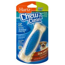 Hartz Chew 'n Clean Small Petite Bacon Scented Chew Toy