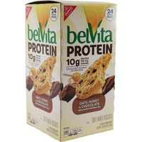 Nabisco Belvita Protein Oats, Honey & Chocolate Soft Baked Biscuits