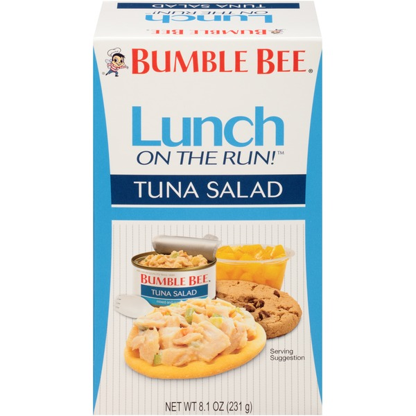 Bumble Bee Tuna Salad Lunch on the Run!