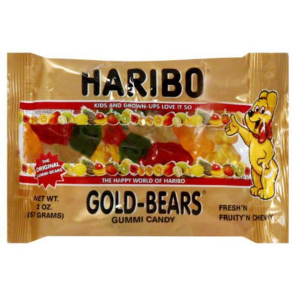 Haribo Fruit Gummy Candy