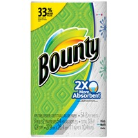 Bounty Basic Print Big Roll Paper Towels