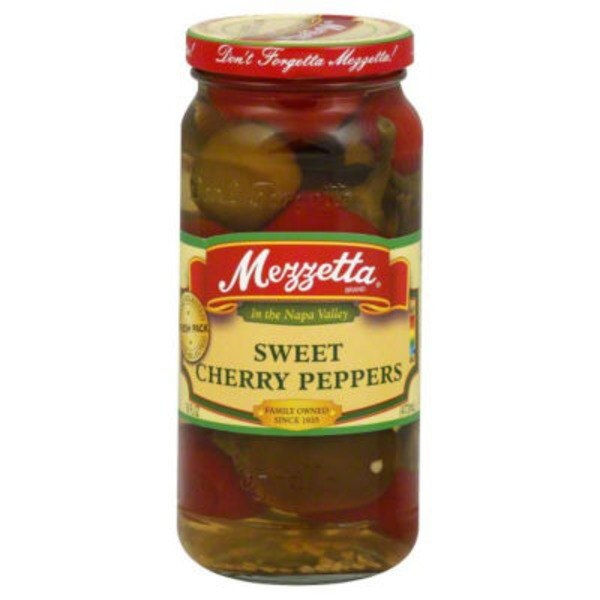 Mezzetta Cherry Peppers, Sweet