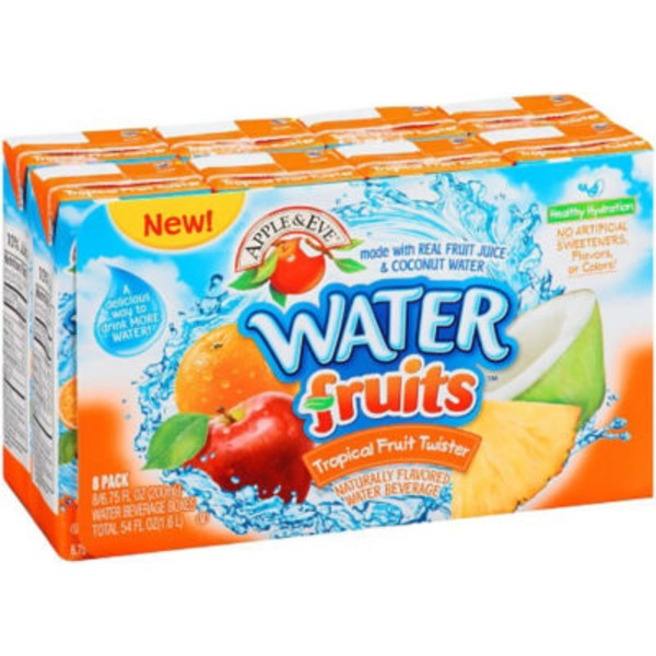 Apple & Eve WaterFruits Tropical Fruit Twister Water Beverage