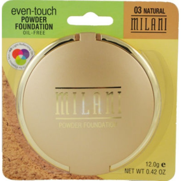Milani Natural Even Touch Powder Foundation