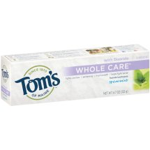 Tom's of Maine Natural with Fluoride Whole Care Toothpaste Spearmint, 4.7 OZ